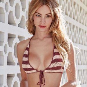 Somedays Lovin Miles crochet bikini top Size XS/S